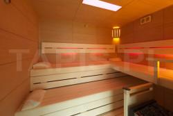 Sauna Modern w jasnej kolorystyce